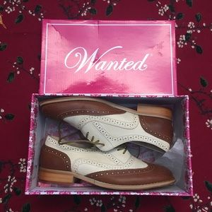 Wanted Oxford babe shoes